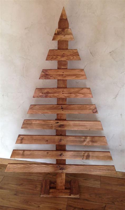 sapin de noel original en bois accessoires de maison par