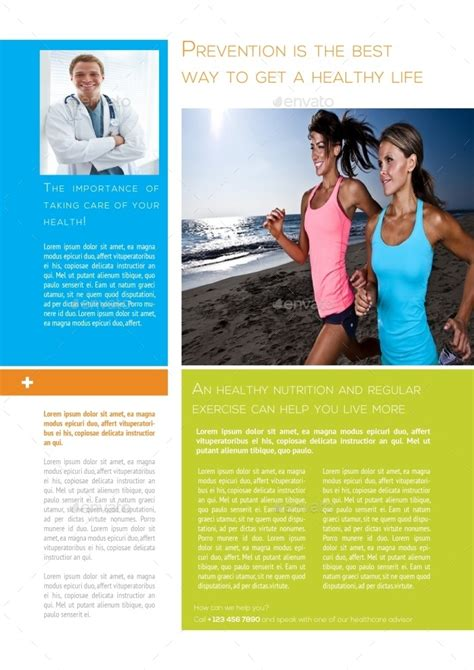 healthcare newsletter templates healthcare newsletter template by carlos fernando