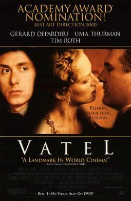 gerard depardieu uma thurman tim roth vatel film wikipedia