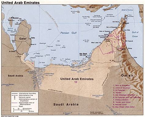 map of the united arab emirates maps of uae emirates travel guide