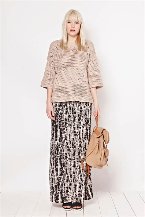 spindle jersey maxi skirt skirts shorts great plains