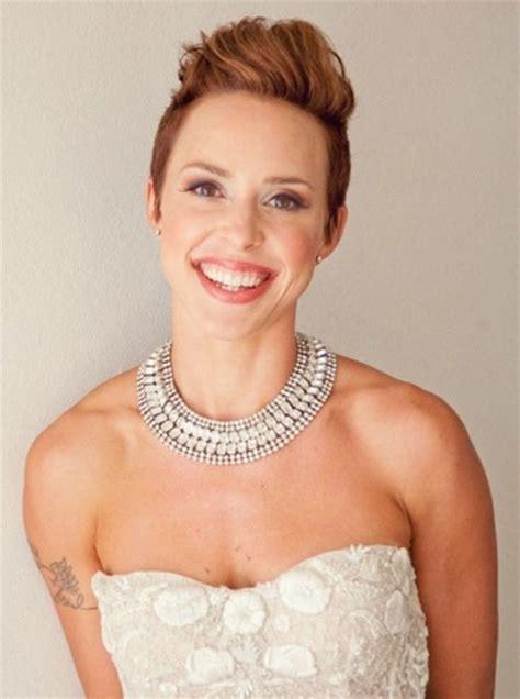 Hochzeitsfrisur Pixie by 19 Wedding Hairstyle Hair Hairstyles 2017