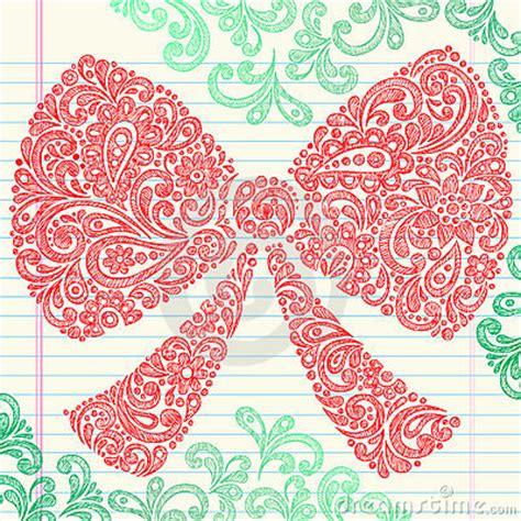 doodle hair bow bow doodle