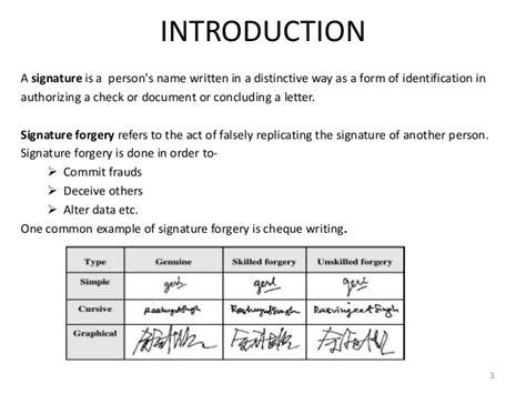 line signature verification