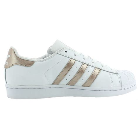 ba8169 adidas shoes superstar w white gold white 2017 leather adidas ebay