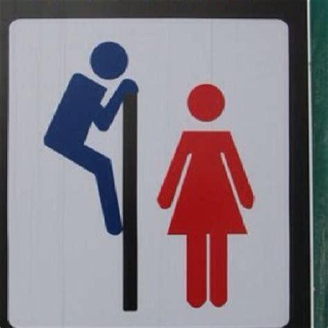unisex bathroom sign hahahaha favorite funnies