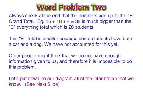 venn diagram word problems venn diagram word problems