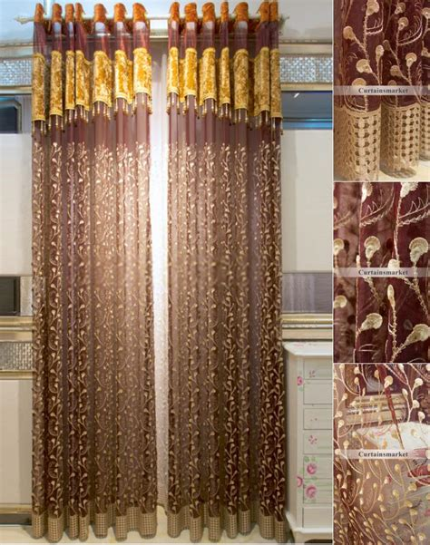 fancy bedroom curtains deluxe ready made sheer curtains will show room in fancy way