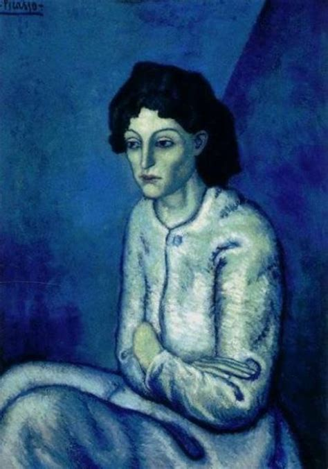 picasso paintings blue hella heaven picasso s blue period two