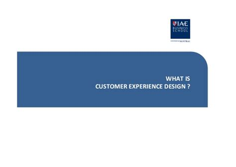 Mba Programs For Design And Innovation by Mba 2013 Innovation Using Experience Design