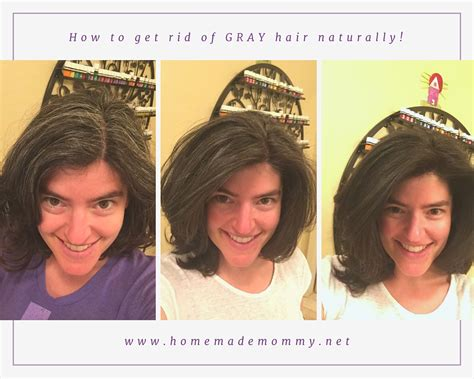 10 ways to get rid of grey hair without visiting a salon how to get rid of gray hair naturally homemade mommy