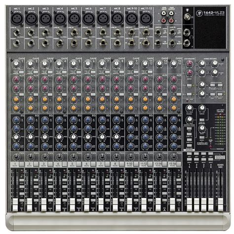 Mixer Mackie Second mackie 1642 vlz3 mixer at gear4music
