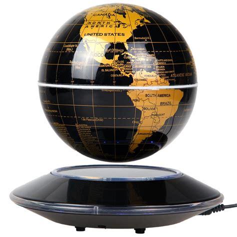 Dekorasi Rumah Magnetic Floating Globe new floating magnetic globes 6 inch led light antigravity levitation globe map of the world in