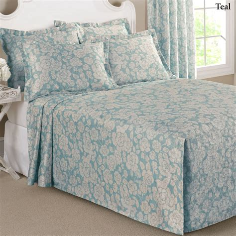 twin fitted comforter floral grace lightweight fitted bedspread