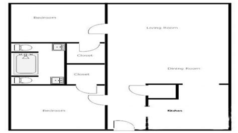 2 bedroom 1 bath floor plans 2 bedroom 1 bath house plans 2 bedroom 1 bath house house