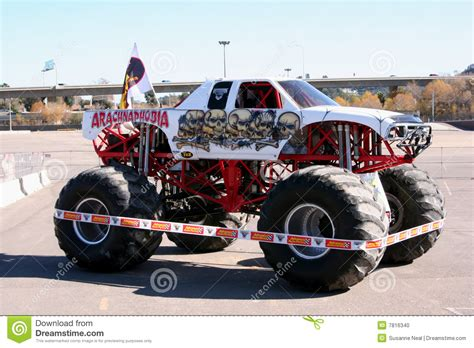 san diego monster truck show monster truck arachnophobia editorial image image 7816340