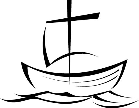 boat clipart outline boat outline clipart best