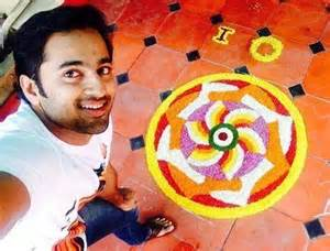 unni mukundan selfie with athapookalam