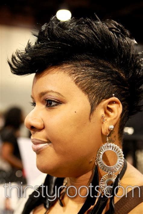 black women mohawks photos black mohawk hairstyles for women