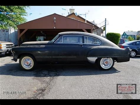 1949 Cadillac Parts 1949 Cadillac Series 62 V8 Coupe Parts