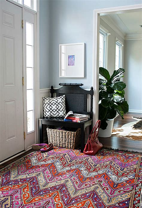 how to create a foyer in an open floor plan 10 tips for creating an entryway in an entryway less home