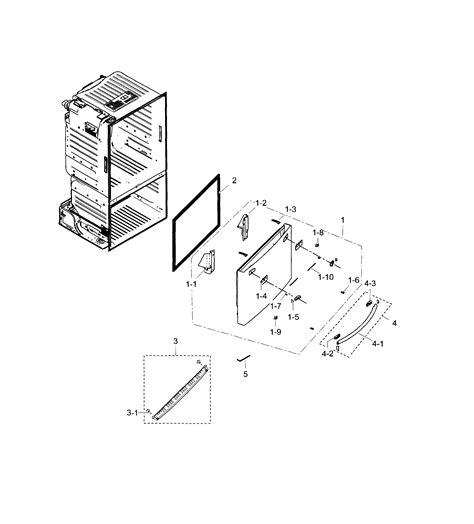 Samsung Refrigerator Parts Samsung Refrigerator Parts Model Rf28hfedtsraa0000 Sears Partsdirect