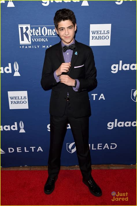 Is Here Gueer At Glaad Awards by Joshua Talks Cyrus Fearlessness On Mack