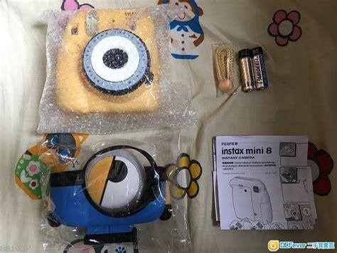 Fujifilm Instax Mini 8 Kamera Minion Limited Edition minion x fujifilm instax mini 8 new release