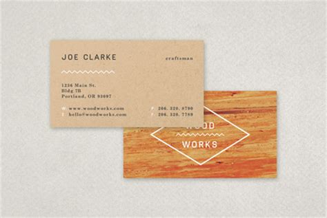 carpentry business card templates free carpenter s textured business card template inkd
