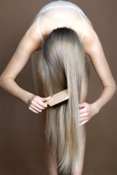 flip hair upsidedown and cut how to grow long healthy hair trusper