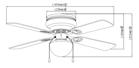 ceiling fan dimensions ceiling fan 42 inch black xs where can you buy ceiling