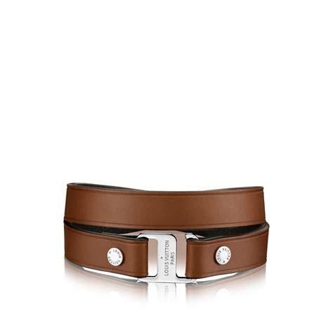 Louis vuitton Snap It 12 Mm Bracelet in Brown for Men (TOBACCO)   Lyst