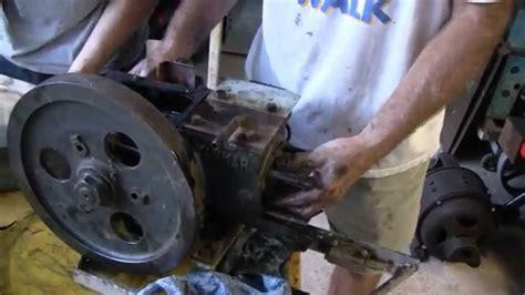 old boat engine repair antique yanmar diesel engine rebuild part 1 youtube