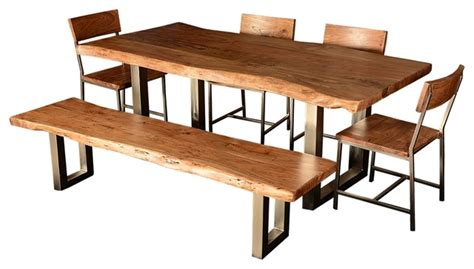 industrial kitchen table home design and decorating