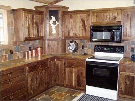 Rustic Kitchen Cabinet Ideas Rustic Kitchen Cabinets The Interior Design Inspiration Board