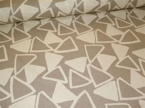 pattern in color linen abstract decorating fabric