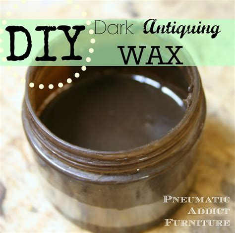 diy chalk paint and wax pneumatic addict diy antiquing wax and a dresser