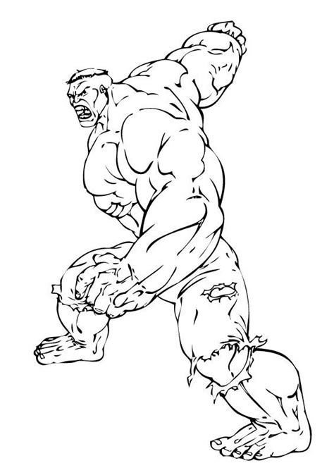hulk fighting coloring pages the incredible hulk coloring pages hulk ready to fight