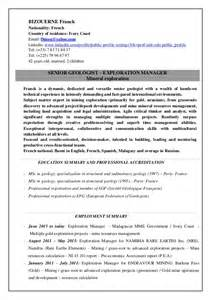 geologist cover letter the gallery for gt letter y words