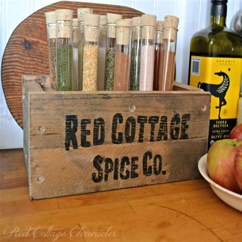 Spice Rack Diy Projects The Cottage Market This Diy Pallet Spice Rack Uses Test To Hold Spices