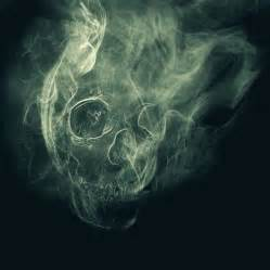 smoke skull by mikey1995 on deviantart