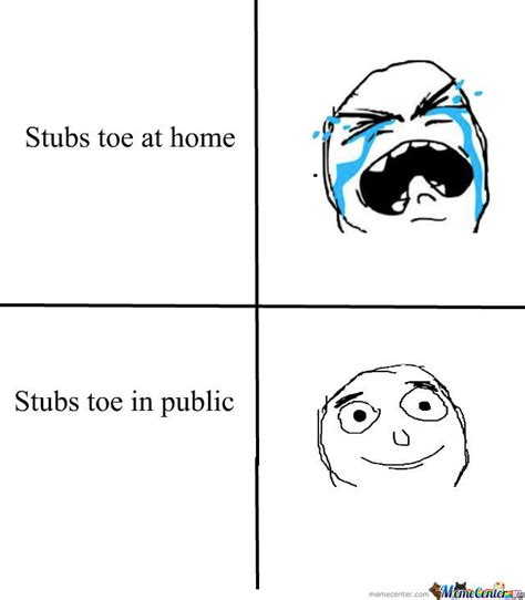 Toe Memes - stubbed toe by missdrizzyminaj meme center