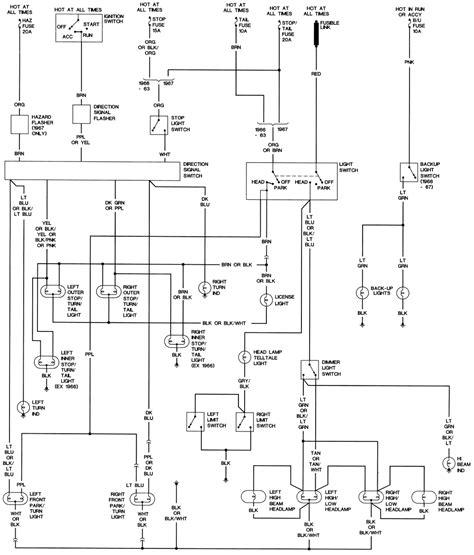 1968 corvette wiring diagram free 1968 free engine image