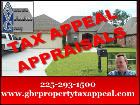 East Baton Property Tax Records Greater Baton Area Property Tax Appeal Home Appraisals Baton Real