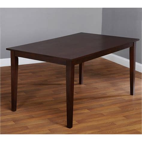 large espresso contemporary large dining table espresso walmart