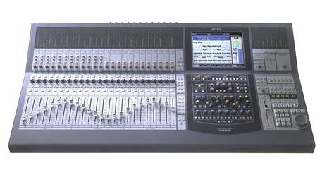 Mixer Audio Sony sony dmx r100 48 channel digital audio mixer reverb