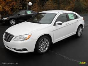 White Chrysler 200 Bright White 2012 Chrysler 200 Limited Sedan Exterior