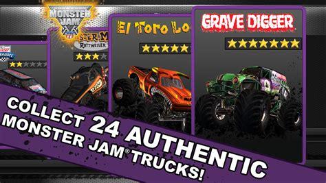 monster jam trucks games monster jam game review 148apps