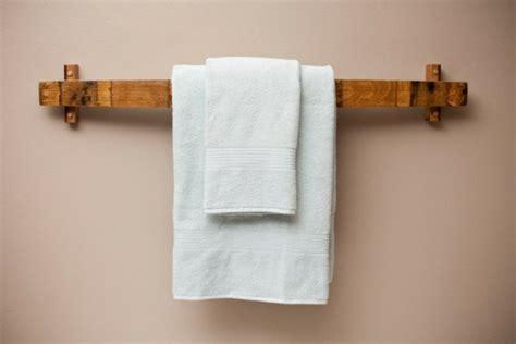 handtuchhalter selber bauen handtuchhalter aus holz tolle modelle f 252 rs badezimmer