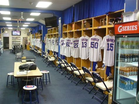 cubs locker room cubs locker room picture of wrigley field chicago tripadvisor